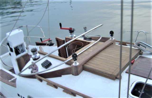 2013 CUSTOM WOODEN SAIL BOAT 9M